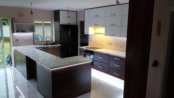 Big change in Kitchen - Units fitted but work still in progress