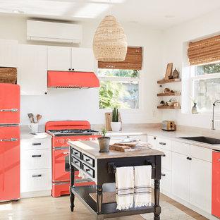 Идея дизайна: кухня в скандинавском стиле