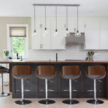 Big Rapids - kitchen and back entry remodel