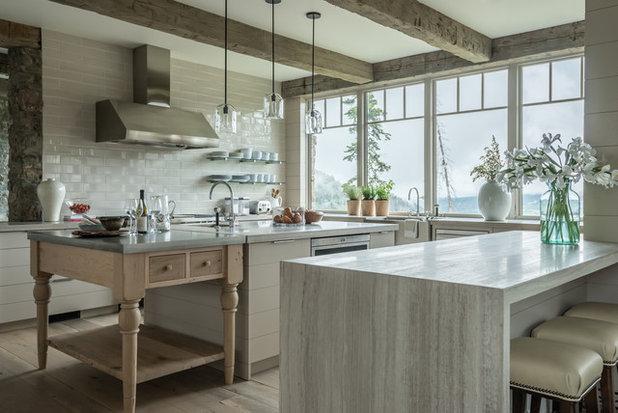 Rustic Kitchen by JLF & Associates, Inc.