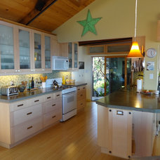 Beach Style Kitchen by Building Solutions