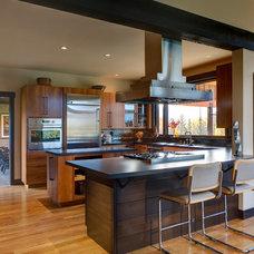 Contemporary Kitchen by Balance Associates Architects