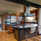 Piano in hpl in stile vintage e il lavello integrato for Cucina in stile ranch