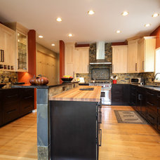 Transitional Kitchen by Dream Kitchens