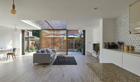 Houzz Tour: A Dated 1980s Home Gets a Very Unusual Extension