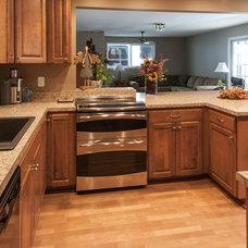 Craftsman Kitchen by Double J Construction Inc