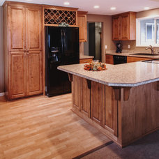 Craftsman Kitchen by Double J Construction Inc