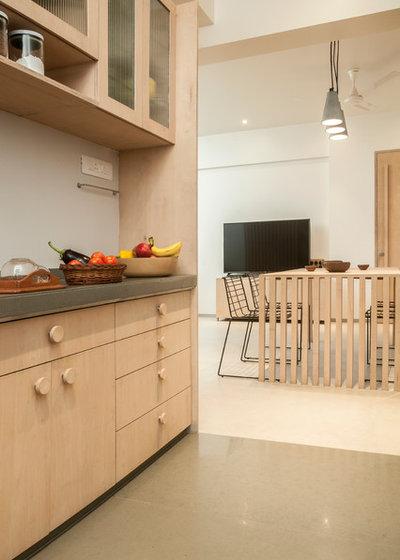コンテンポラリー キッチン by SML Architects