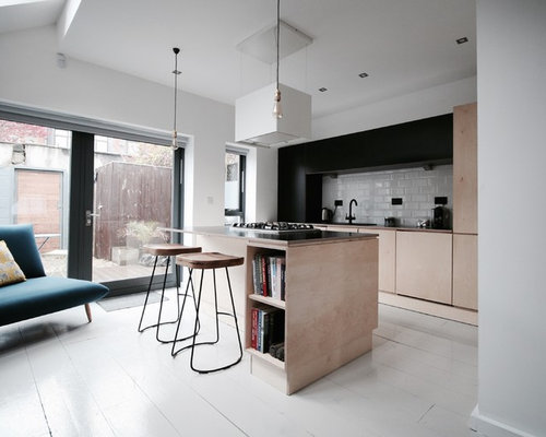Dublin Kitchen Design Ideas Renovations Photos With Light Wood Cabinets