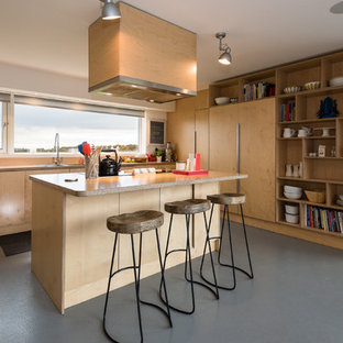 Birch Plywood Kitchen
