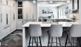 Birkett St. Contemporary Gray Shaker Kitchen