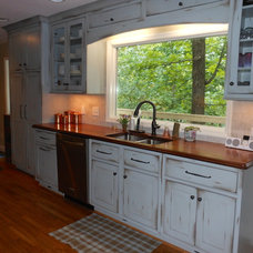 Eclectic Kitchen by Counter Dimensions