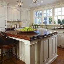 Kitchen Wood Island Countertop
