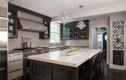 Kitchen of the Week: An Awkward Layout Makes Way for Modern Living