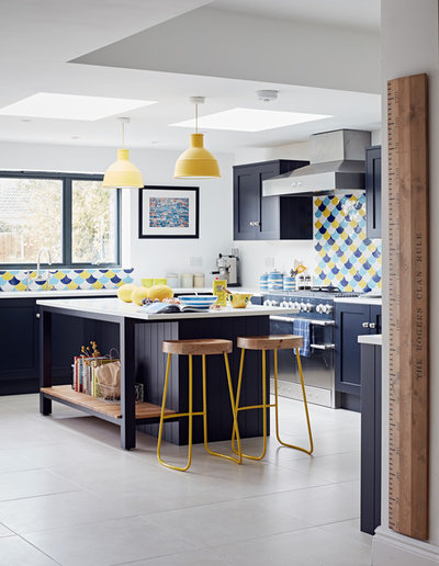 Contemporary Kitchen by John Lewis of Hungerford