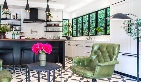 Kitchen of the Week: Vintage Details and Fabulous Seating