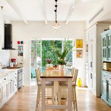 Eclectic Kitchen by Davidie Rozin Architects