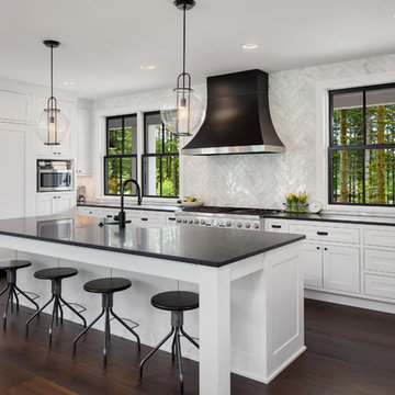 Black Accents Kitchen