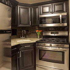 Traditional Kitchen by Marie Burgos Design