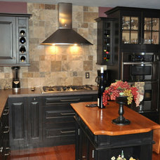 Transitional Kitchen by Someone's in the Kitchen, Inc.