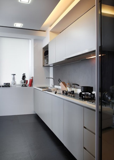 Which Are The Most Saved Kitchens From Houzz Singapore