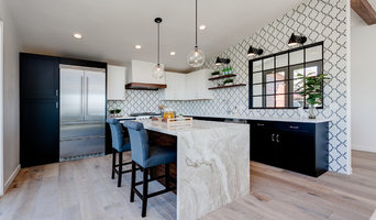 Black and White Cabinets