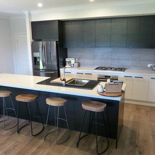 Küchen Mit Rückwand Aus Zementfliesen In Adelaide Ideen