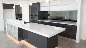 Black & White Dream Kitchen