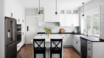 Black and White Kitchen - Hillsboro