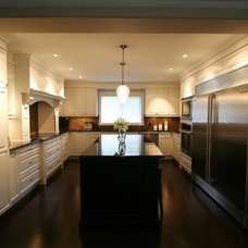 Contemporary Kitchen by Interior Works Inc