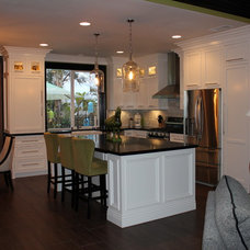 Traditional Kitchen by Larson's Furniture and Cabinetry