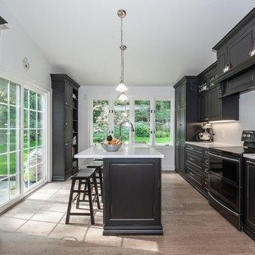 Black & White Kitchen Norwalk CT