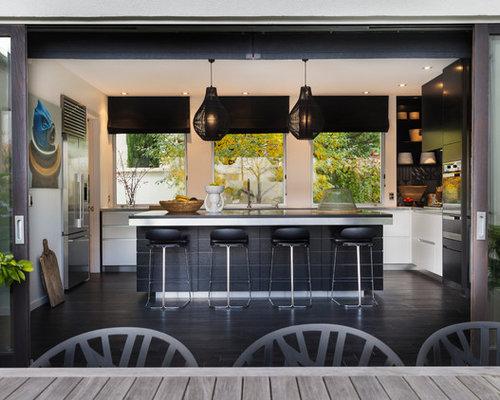 black white kitchen nz - Black And White Kitchen Nz