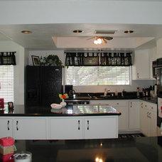 Eclectic Kitchen by ProBilt Construction LLC