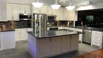 Black and White Remodeled Kitchen