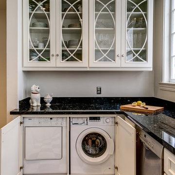 Black and White San Francisco Kitchen- Gilmans Kitchens and Baths