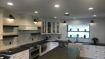Black Counter Tops Kitchen