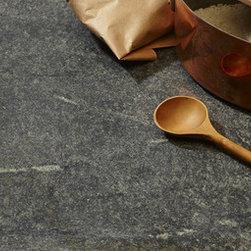 Black Honed Soapstone Countertop -