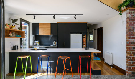 Room of the Week: An Eclectic Kitchen With Colourful Touches