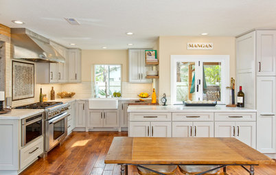 Kitchen of the Week: White and Wood Perk Up a Chef's Space