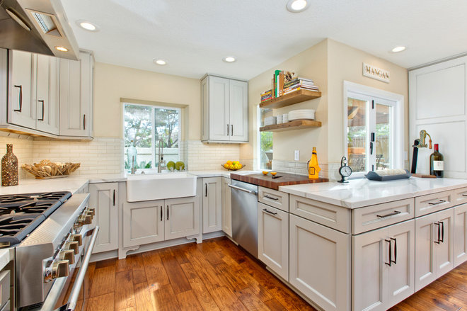 Traditional Kitchen by TaylorPro Design & Remodeling