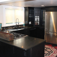 eclectic kitchen by Tara Wenzel