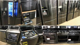Black Stainless Steel Household Appliances