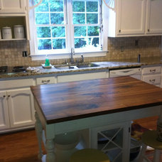 Traditional Kitchen by Craft Art Elegant Surfaces