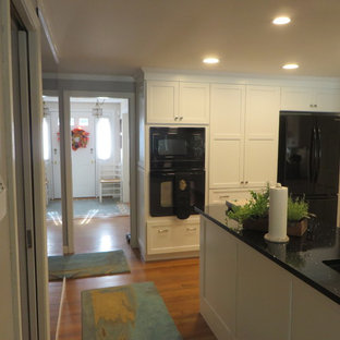 Black, White, Gray Kitchen, Durham, Tulley and Clark