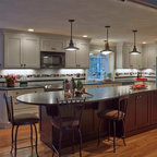 West 11th Street Traditional Kitchen Houston By