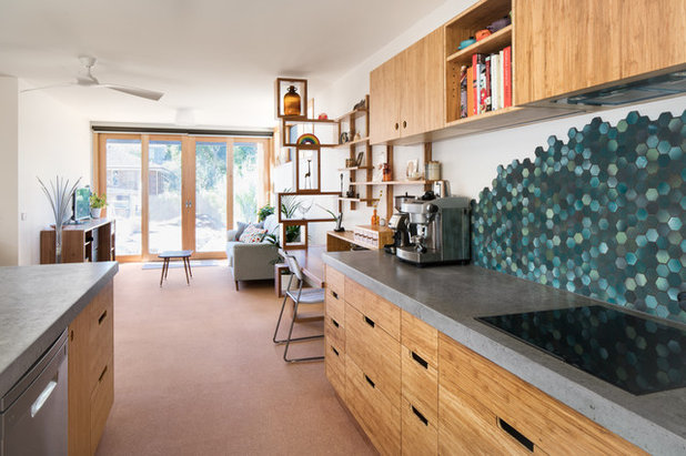 Contemporary Kitchen by Ecocraft