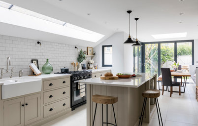 Room tour a 1930s house gets a spacious sensitive extension for Kitchen ideas victorian terrace