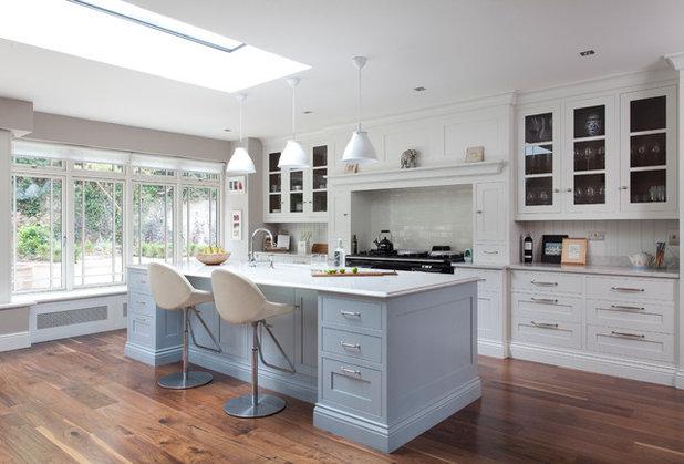 Kitchen tour a pared back elegant room full of practical for Kitchen design 5m x 6m