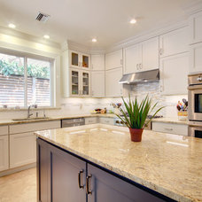 Transitional Kitchen by JANSEN QUALITY CONSTRUCTION